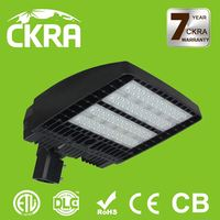 US market ETL DLC listed mean well driver energy saving ip65 led roadway and area light