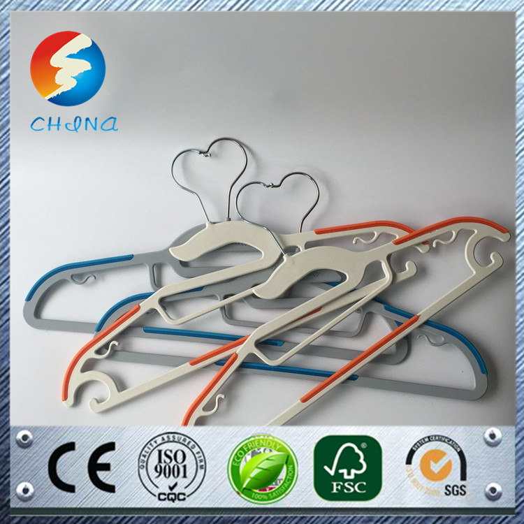made in China custom plastic hanger manufacturer plastic hanger with circle dry cleaning hangers online shopping