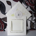 2014 Off white Luxurious Lace Wedding Invitations