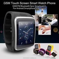 2015 hot selling 1.54inch GSM touch screen smart watch phone