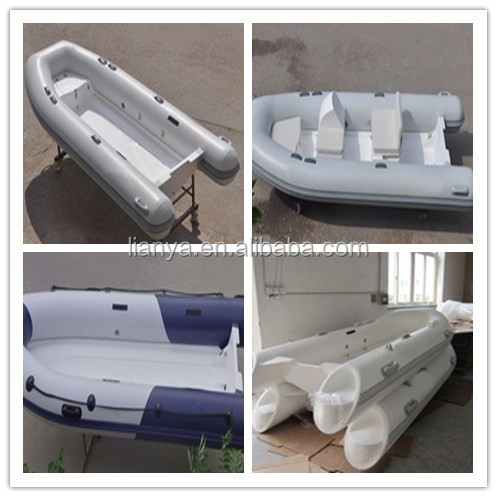 Liya hypalon fabric pvc inflatable boat with ce 3.8m folding boat china
