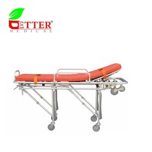 Foldable aluminum loading ambulance stretcher rescue stretcher for sale