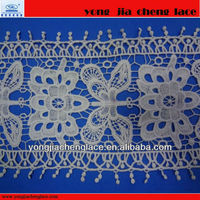 100% Cotton Tulle Lace /Cotton Voile Embroidery Lace/100% Cotton Net Lace YJC8019