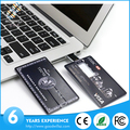 Best selling promotional credit/visa/business card logo printing usb card flash drive
