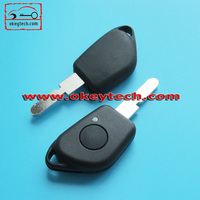 Okeytech peugeot car key peugeot 406 1 button remote key cover for peugeot key cover