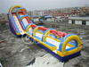 Giant inflatable water slide N slip for kids and adults