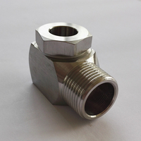 High pressure water jet spray nozzle