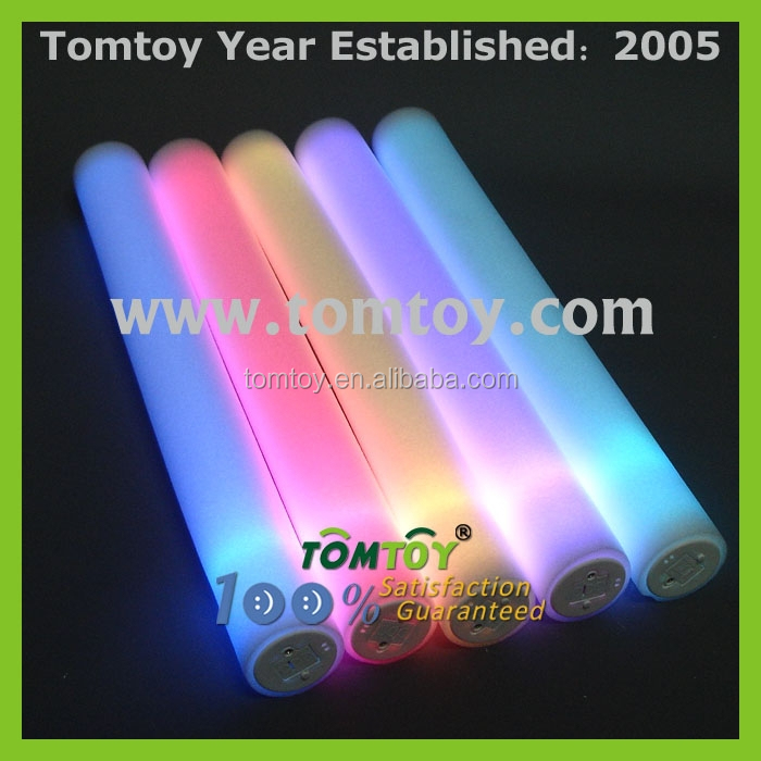3Leds Multicolor Sound activated Cheering Led Foam Stick For Party Concent