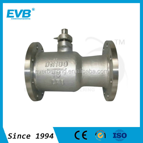 New Product Stainless Steel Ball Valve Flange End