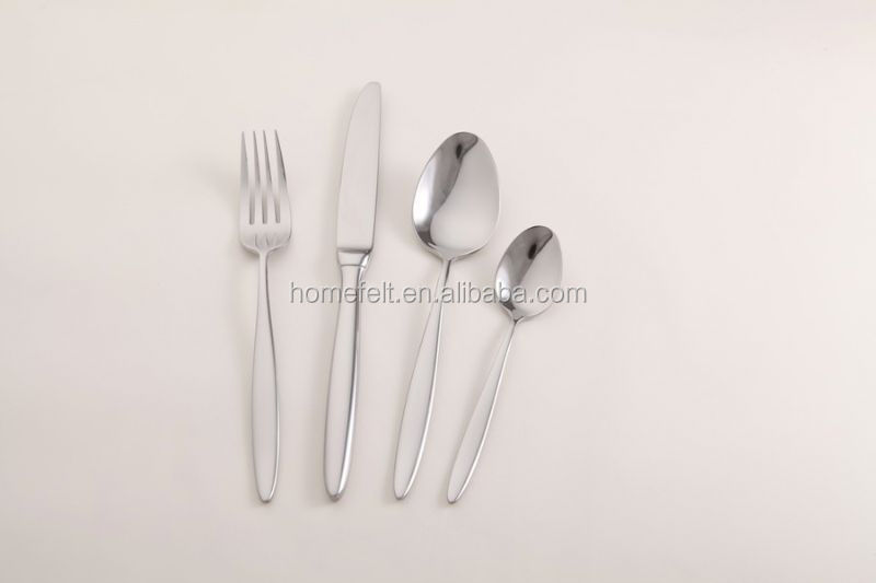 5 star hotel 18/10 stainless steel cutlery sets