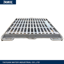 Stainless steel floor gully/manhole top