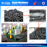 Used Truck/Car Tyre Shredding Recycling Machine