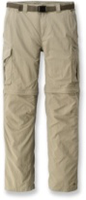 Men's walking pants with belt