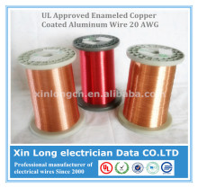 UL Approved Enameled Copper Coated Aluminum Wire 20 AWG