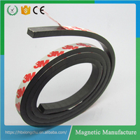 Flexible Fridge Rubber Coated Magnet with 3mm Adhesive