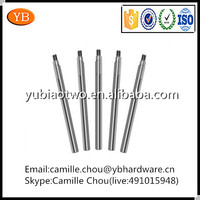 China Supplier ISO9001:2008 Firmed Threaded Spindles With Hex Shaft Collar,Turning Spindle,CNC Milling Spindle