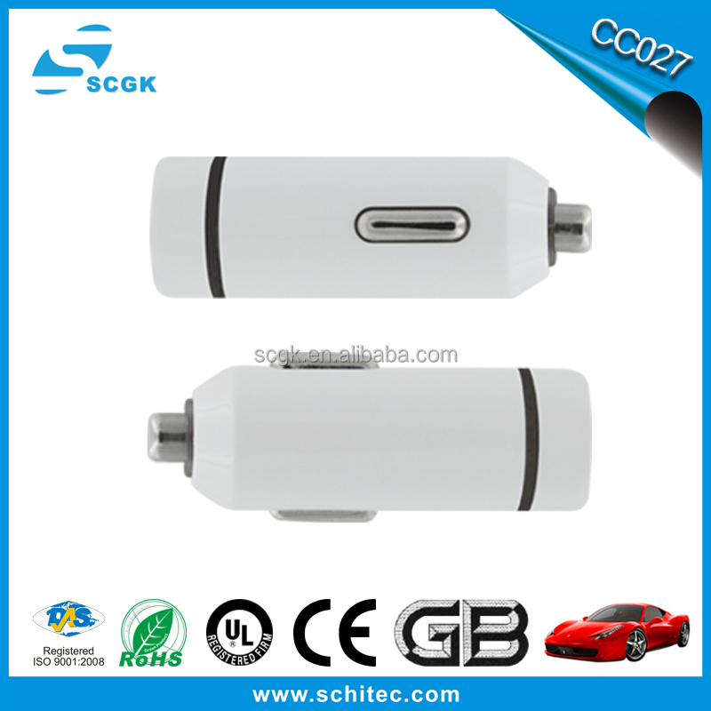 2015 hot sale 1000mA multi car charger