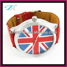 2013 uk national flag watch alloy watch vogue wrist watch popular in USA Europe
