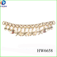 2014 new lady sandals shoes bead chain HW6658