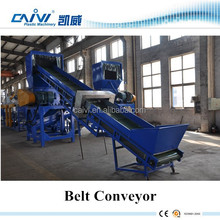 plastic recycling production line/waste film washing machine for sale