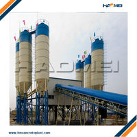 belt type concrete batching station 180m3/h export to saudi arabia