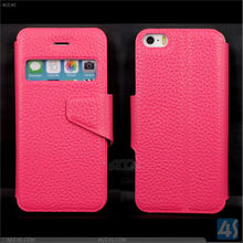 For iPhone 5/5S Case Magnet Buckle Leather Case P-IPH5SCASE004