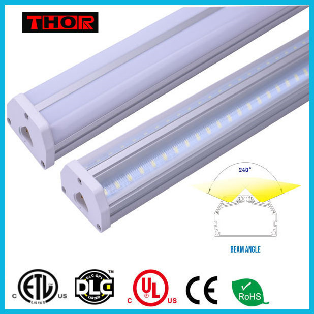 ETL 4ft 1200mm 30w t5 integrated plastic extruded led tube components t5 led tube grow
