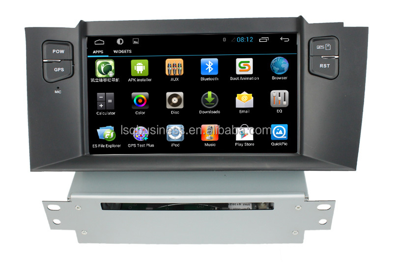 CITROEN C4 L Android 4.4 car audio gps dvd RDS,Telephone book,AUX IN,GPS,WIFI,3G,Built-in wifi dongle