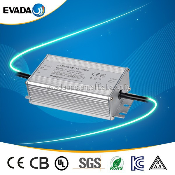 High quality high power 100W DC33V rainproof led driver
