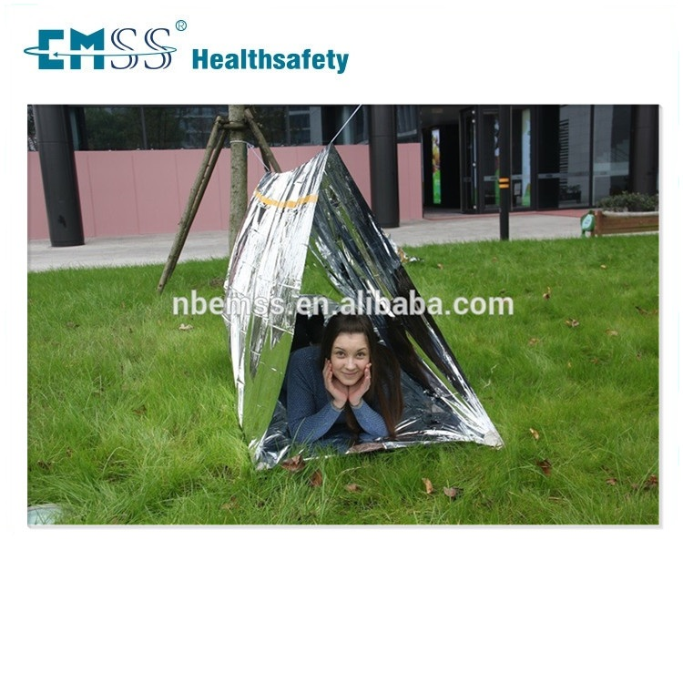Emergency Outdoor Waterproof Pup / Tube Tent for Camping / Hiking Gear Survival Shelter