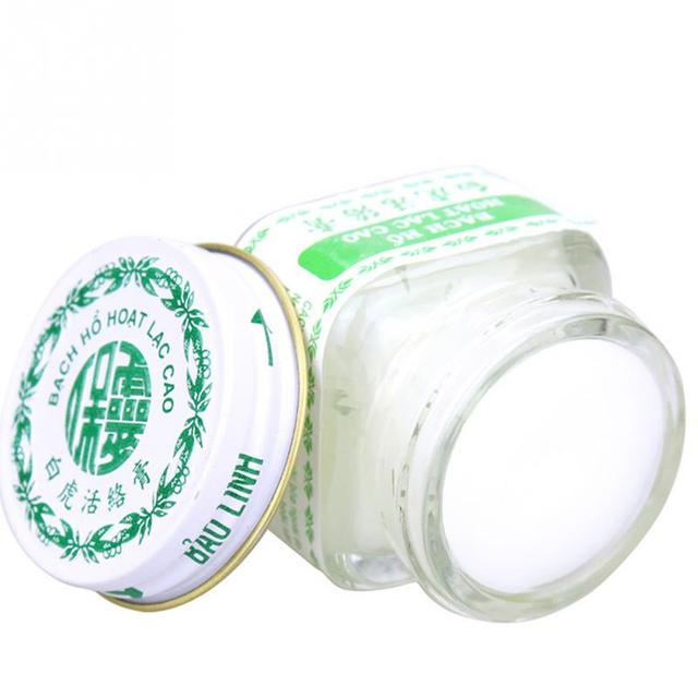 2Pcs 20g Vietnam White Tiger Balm for Headache Toothache Stomachache Baume Tiger Blanc Cold Dizziness Essential Balm