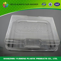 2016 customized shape new products disposable vegetable plastic container