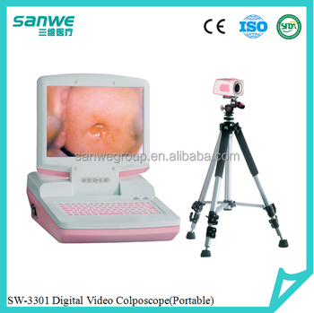 SW-3301 Portable Handheld Digital Electronic Colposcope with Sony Camera