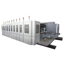 GIGA LX 707N More Function Rotary Die Cutting Machine Flexo Printer with Carton box Making Machine