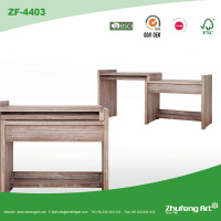 Factory Direct New Design Extendable Detachable Antique Computer Desk Wooden Study Table for Children
