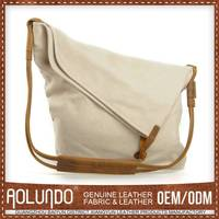 Nice Quality Original Design Canvas & Leather Designer Bags Made In Korea