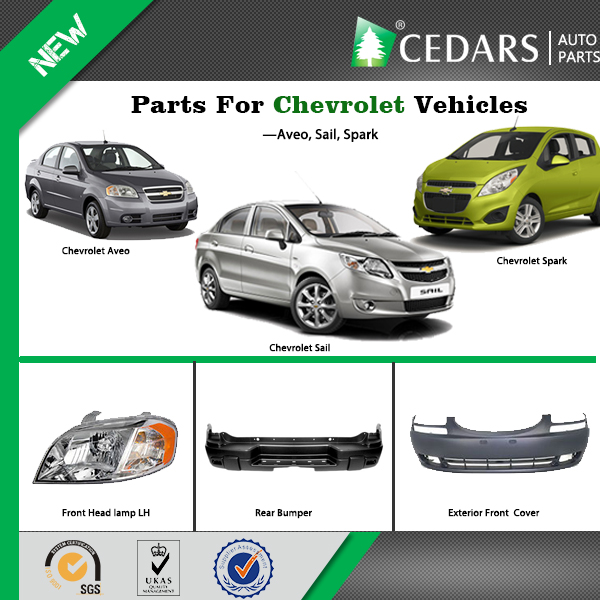 10 Years Experience Wholesaler Chevrolet Spark Body Parts with 12 Months Warranty