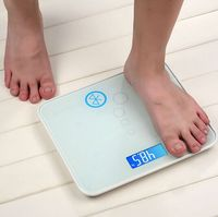 Health app bluetooth smart scale digital body weight machine wholesale