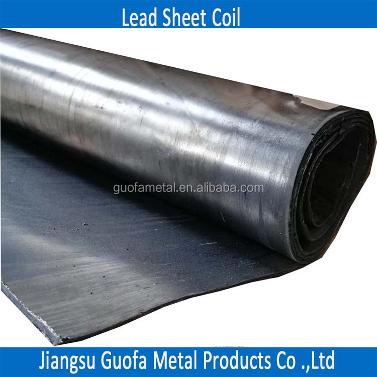 2mm 2.5mm 3mm 99.99% Pure X-Ray Shielding Lead Sheet