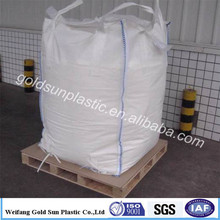China pp woven bulk bag pp big bag container bag100% pp woven cheap 1 ton bulk bag factory in shandong