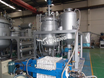 Energy saving used engine oil recycling machine change for Used motor oil recycling