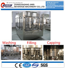 High speed and quality PET bottle Drinking water washing filling capping machine