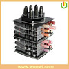 Acrylic rotating lipstick holder spinning buy direct from china factory