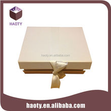 New design wedding dress table paper box