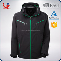 Fashion men's clothing custom full seam taped ski brand jacket
