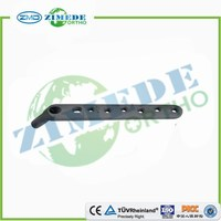 Orthopedic implants CE ISO proximal femur dynamic hip plate DHS locking plates