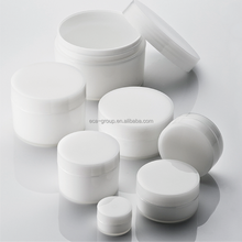 Plastic PP double wall Cosmetic Cream jar