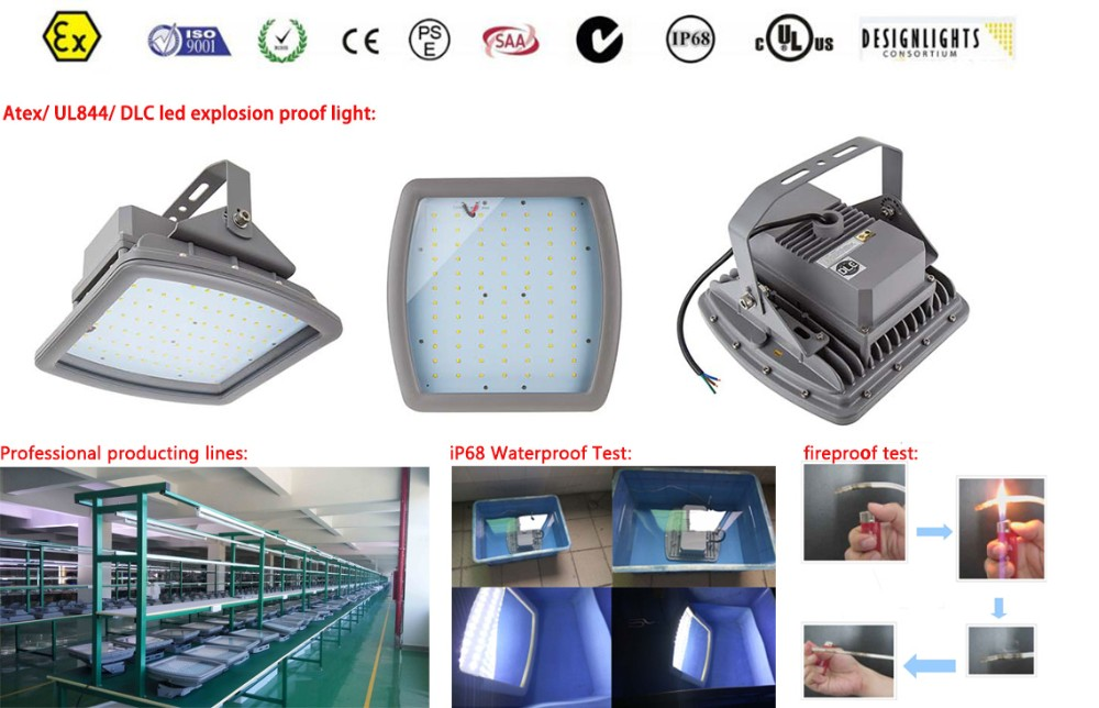 CESP UL844 petrol station explosion proof led lighting