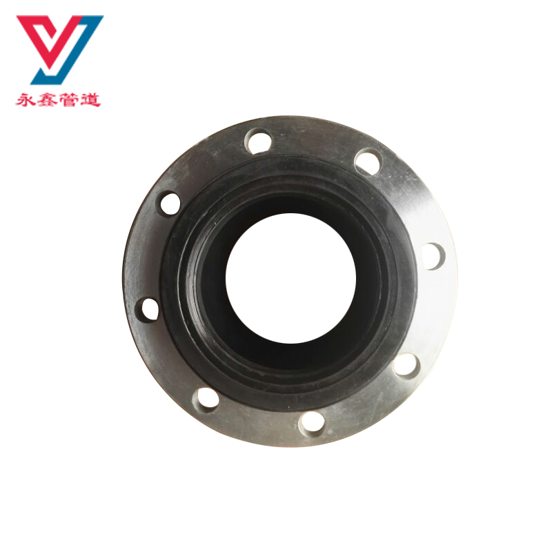 EPDM single ball rubber expansion joint with flange for pipe