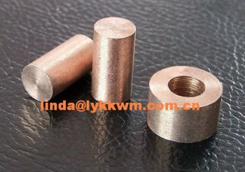 high quality tungsten copper alloy rod